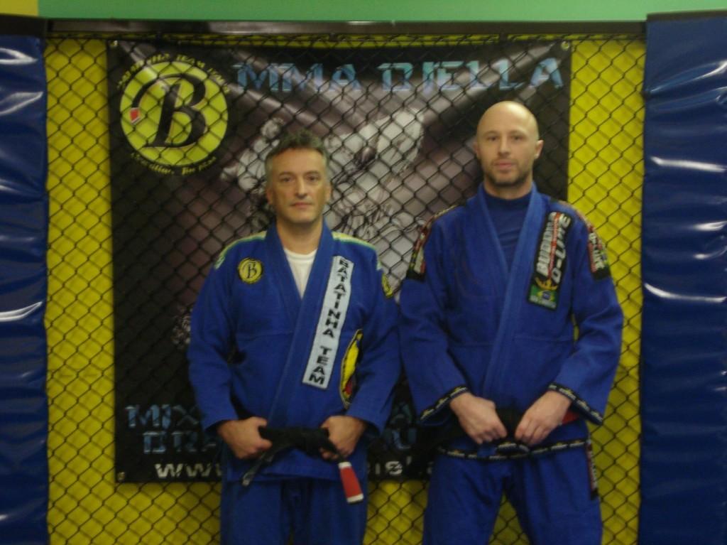 Basilio Tazio e Villani Michele MMA BJJ Biella