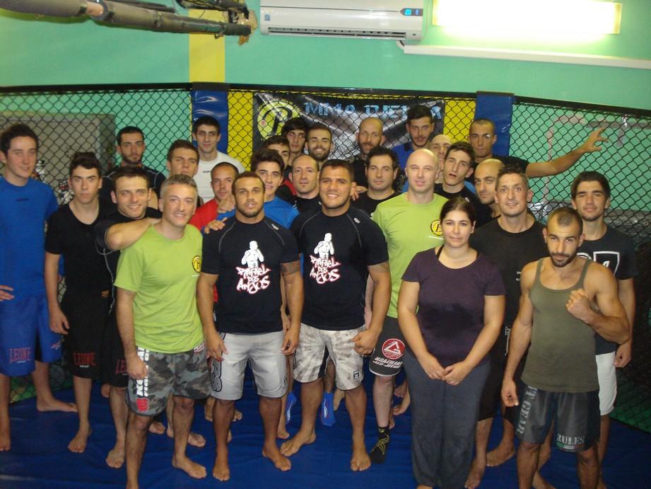 Rafael Dos Anjos MMA Biella