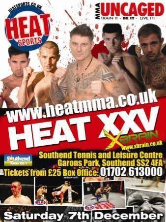 Heat MMA London MMA Biella